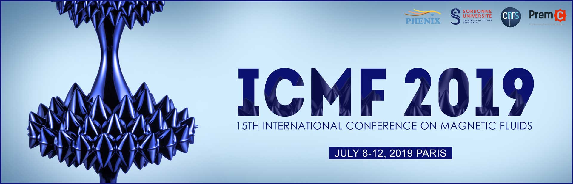 15th International Conference on Magnetic Fluids - ICMF 2019