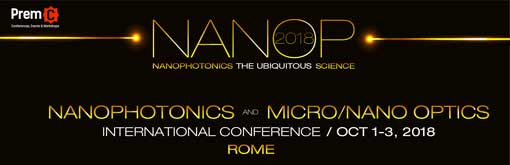 Nanophotonics and Micro/Nano Optics International Conference 2018