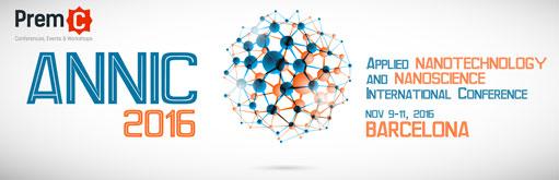 Applied Nanotechnology and Nanoscience International Conference – ANNIC 2016