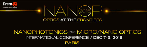 Nanophotonics and Micro/Nano Optics International Conference