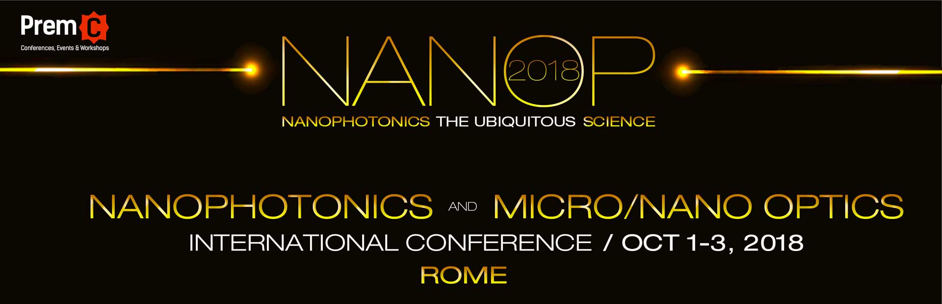 Nanophotonics and Micro/Nano Optics International Conference 2017 banner