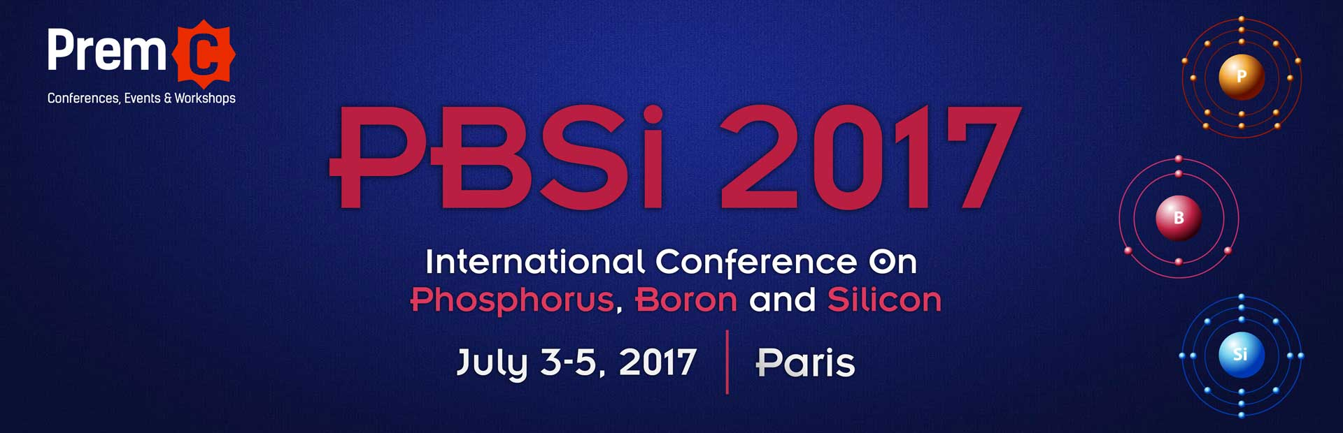 International Conference On Phosphorus, Boron And Silicon - PBSI 2017