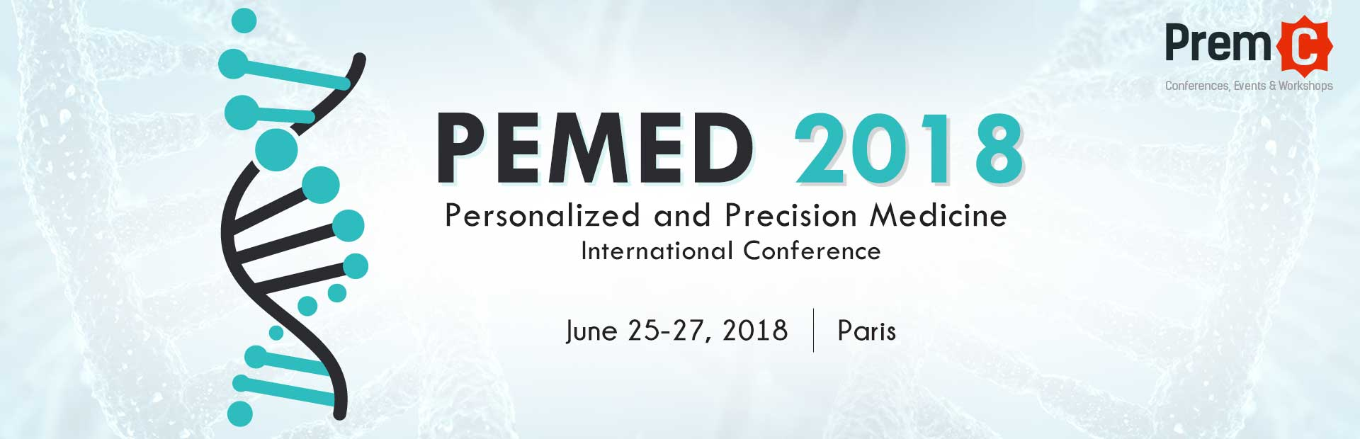 Personalized and Precision Medicine International Conference PEMED 2018