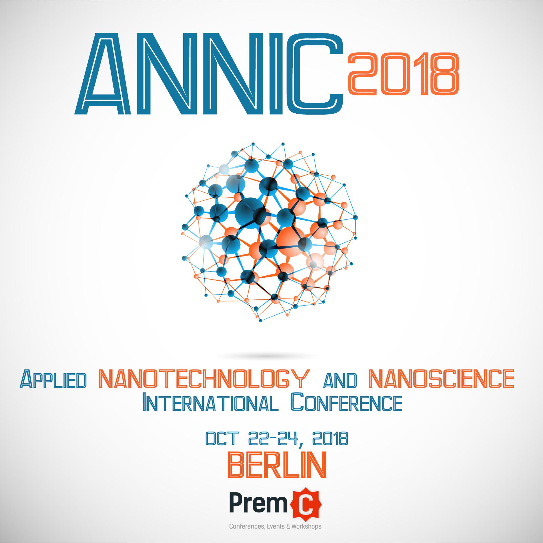 Applied Nanotechnology and Nanoscience International Conference 2018