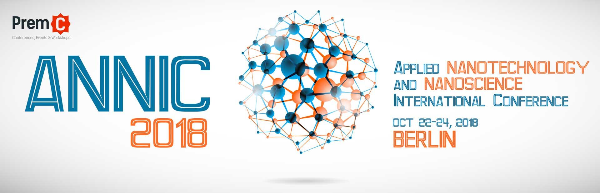 Applied Nanotechnology and Nanoscience International Conference - ANNIC 2018