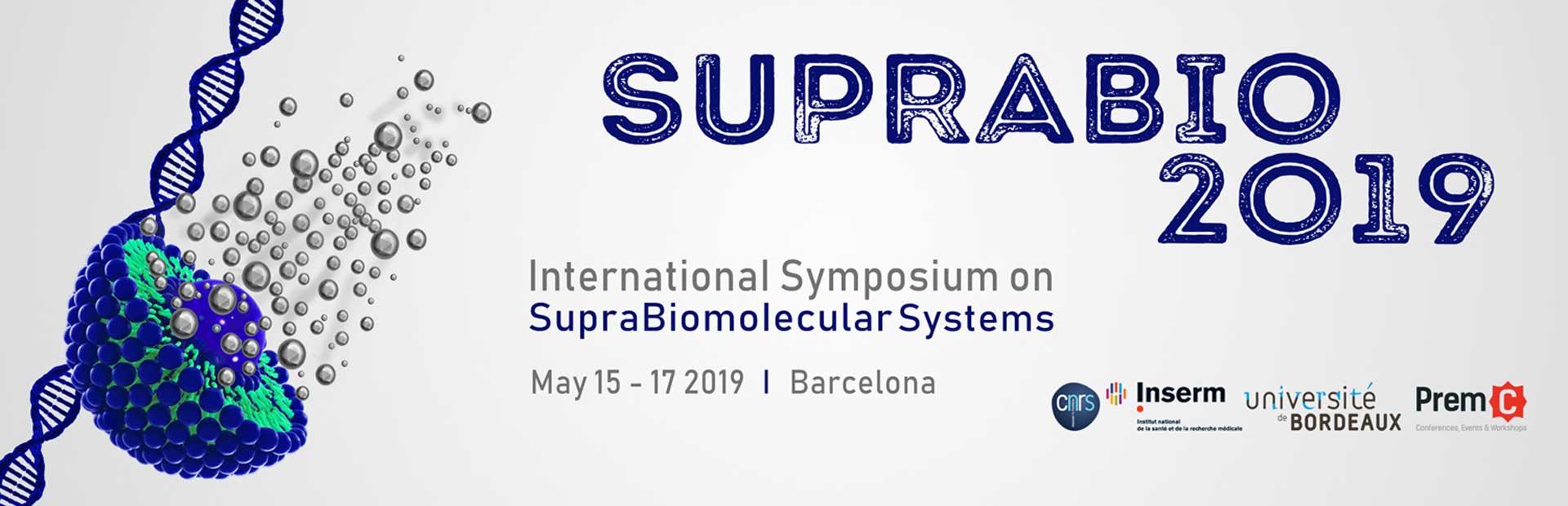 International Symposium on Suprabiomolecular Systems - SUPRABIO 2019