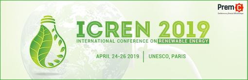 International Conference on Renewable Energy - ICREN 2019
