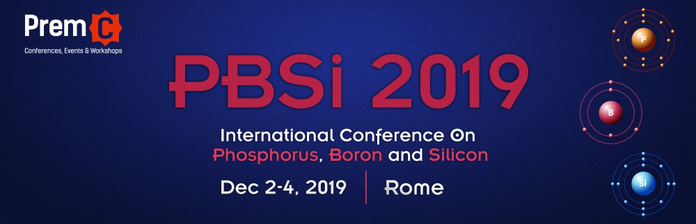 International Conference On Phosphorus, Boron and Silicon - PBSi 2019