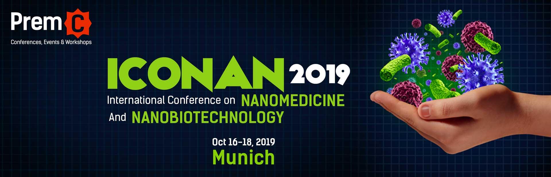 International Conference On Nanomedicine And Nanobiotechnology 2018