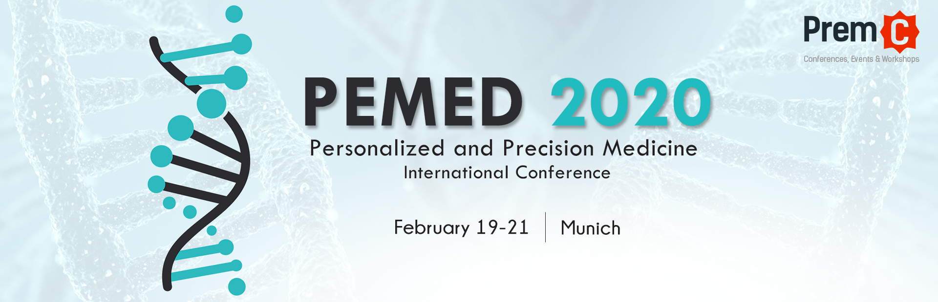 Personalized and precision medicine international conference - PEMED 2018