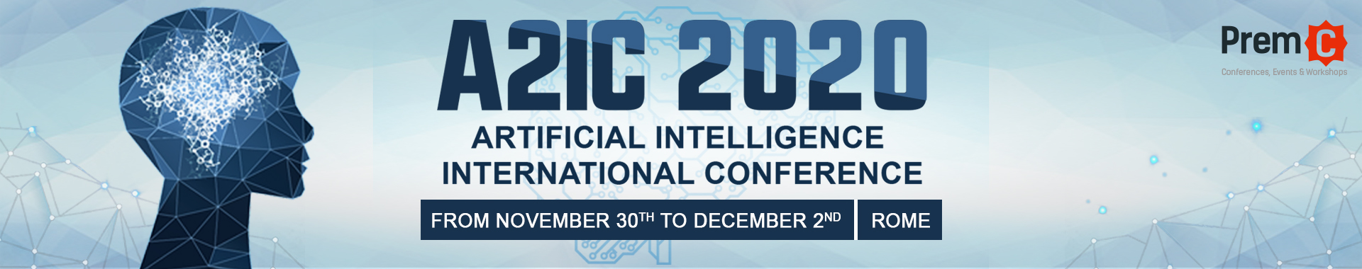 Artificial Intelligence International Conference banner