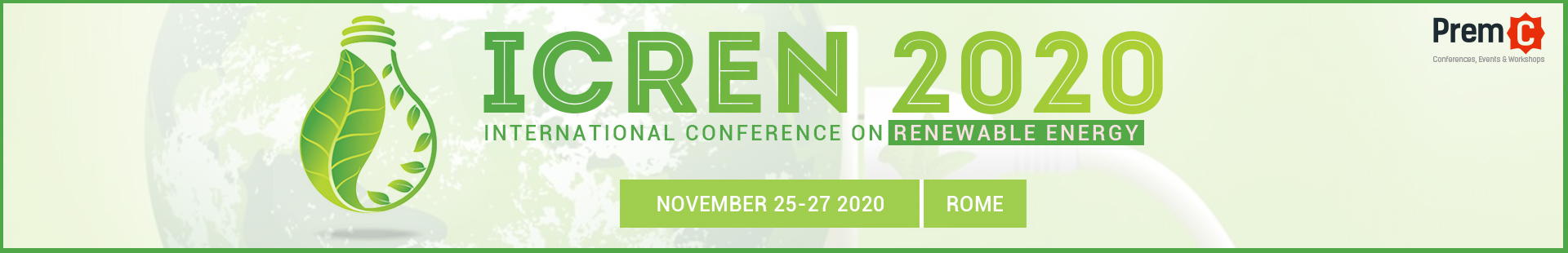 International Conference on Renewable Energy banner