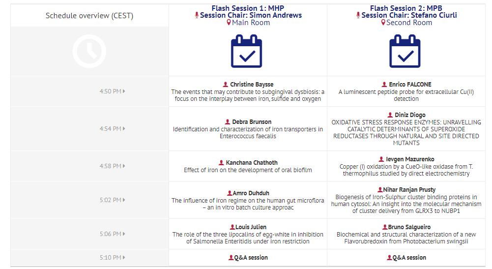 Schedule BioMetals 2020