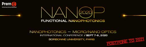 Nanophotonics and Micro/Nano Optics International Conference - NANOP 2020