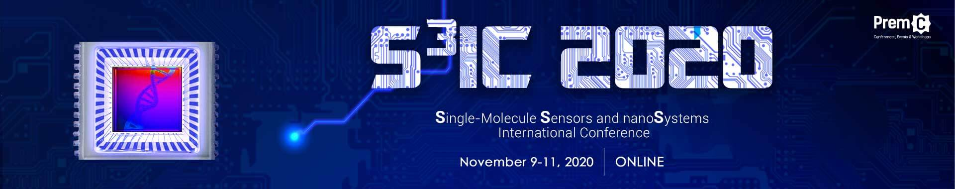 Single-Molecule Sensors and NanoSystems International Conference Banner