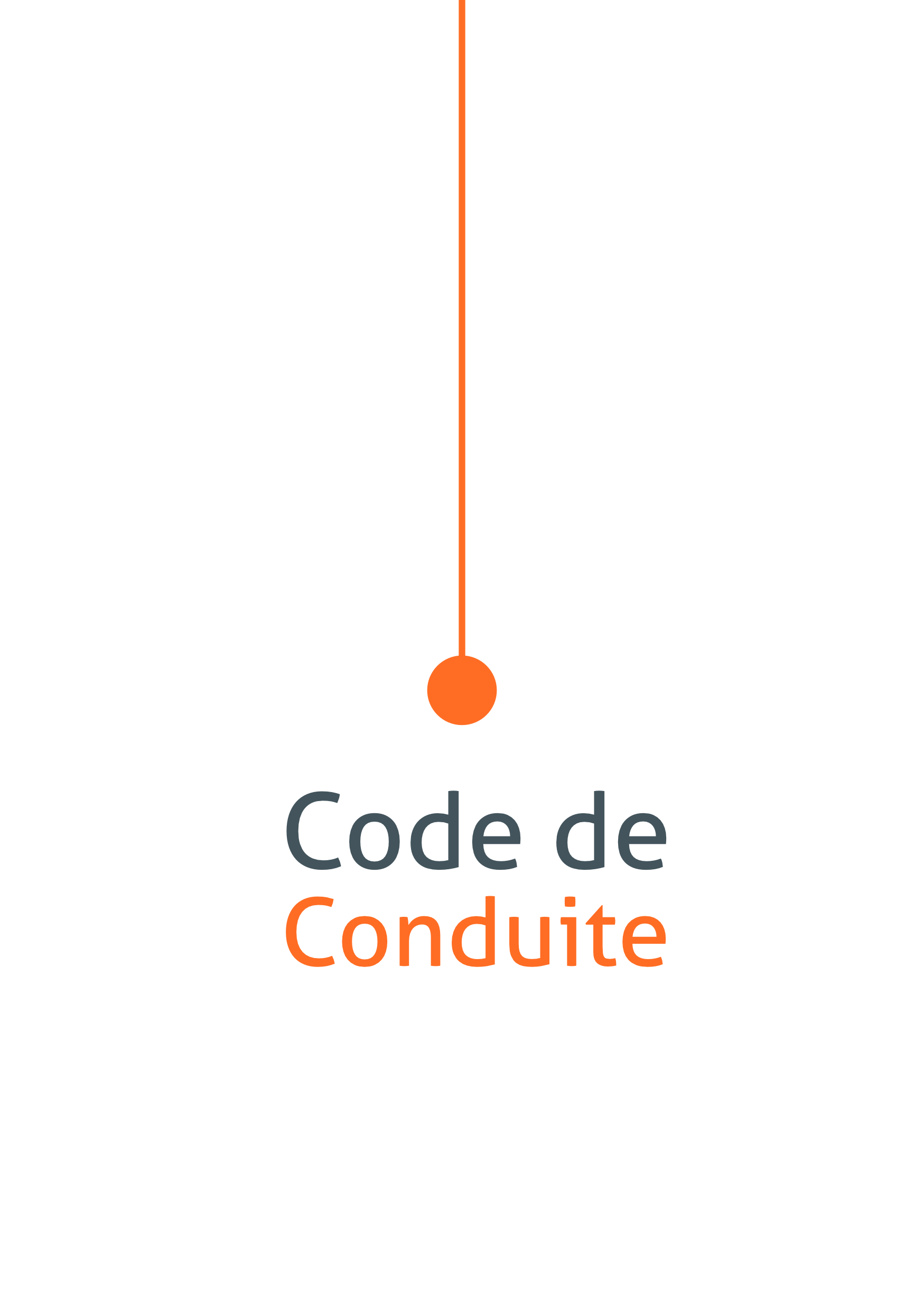 Online conference code of conduct