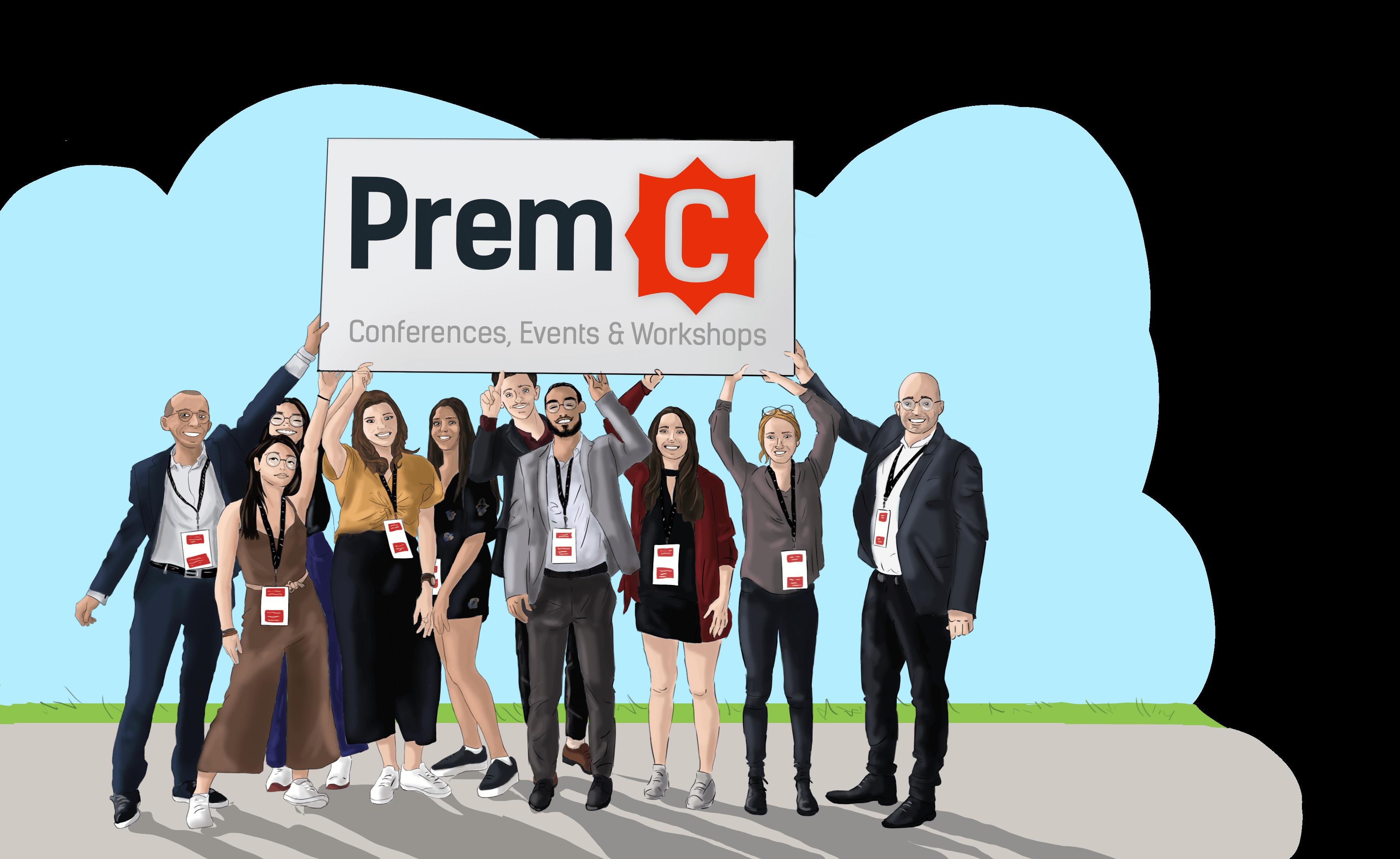Photo de groupe de l'équipe PremC